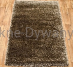 Dywan Wool Shaggy  brown